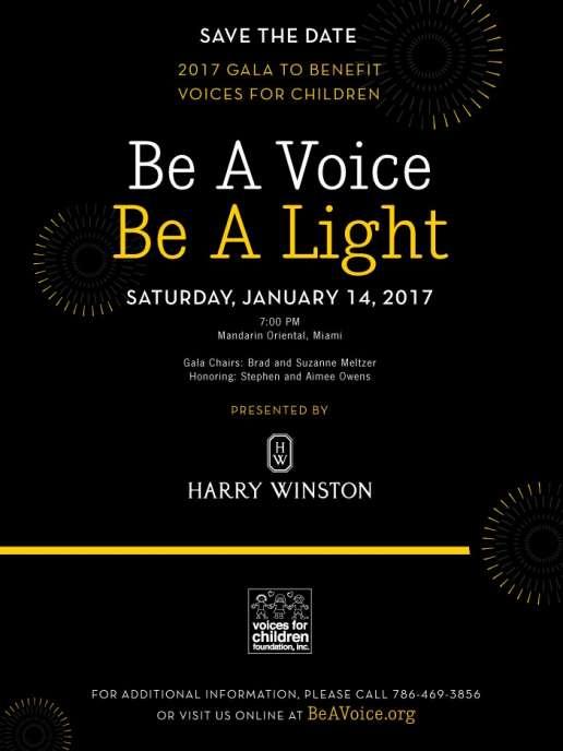 Be A Voice, Be A Light Gala 2017- STD