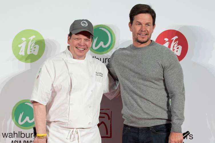 Chef Paul and Mark Wahlberg