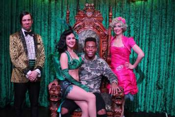 Denver Broncos Linebacker Brandon Marshall Attends ABSINTHE at Caesars Palace 1.29.17_2