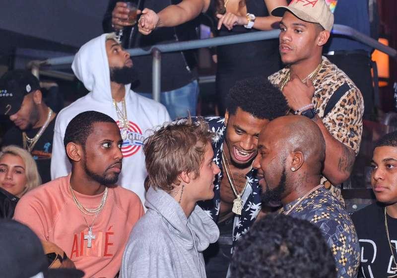Justin Bieber & Trey Songz at E11even Miami