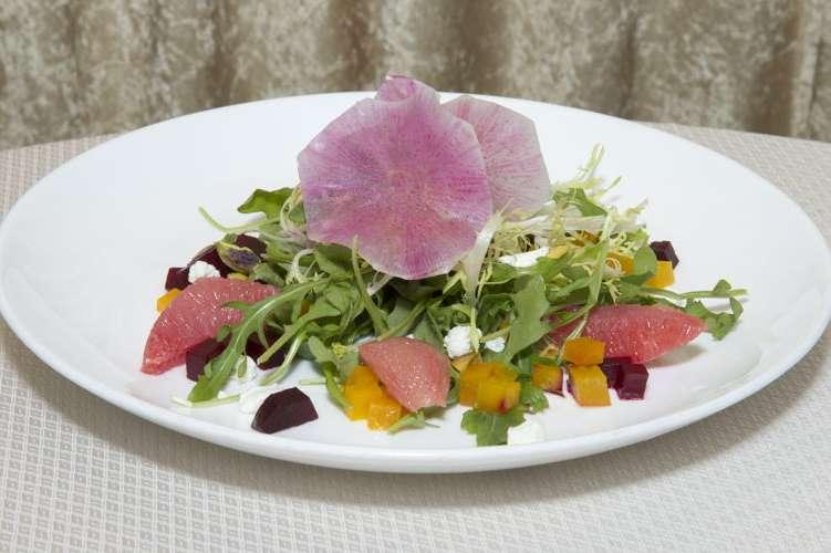 Golden Globe golden salad