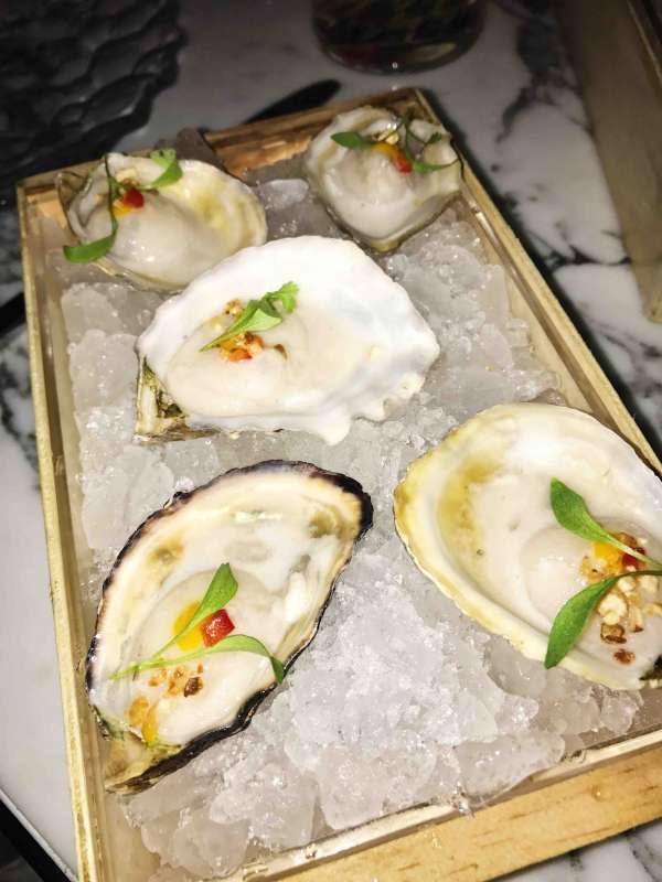 Bazaar Mar Oysters