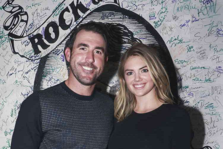 TK and Kate Upton at The Getaway