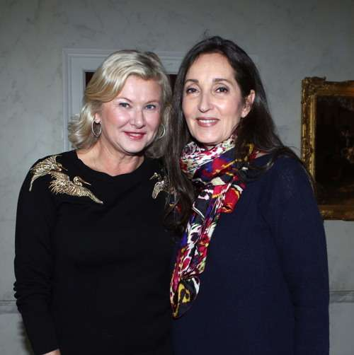 Liliana Cavendish, Isabel Rattazzi== Jean Shafiroff Hosts Cocktails and a Planning Meeting for the NYC Mission Society's Champions for Children Gala on April 5, 2017== Private Residence, NYC== January 24, 2017== ©Patrick McMullan== Photo - Krista Kennell/PMC== ==