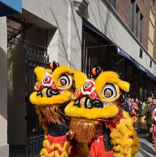 Celebrating the Chinese New Year on Madison Avenue. Photo: Andrew Werner