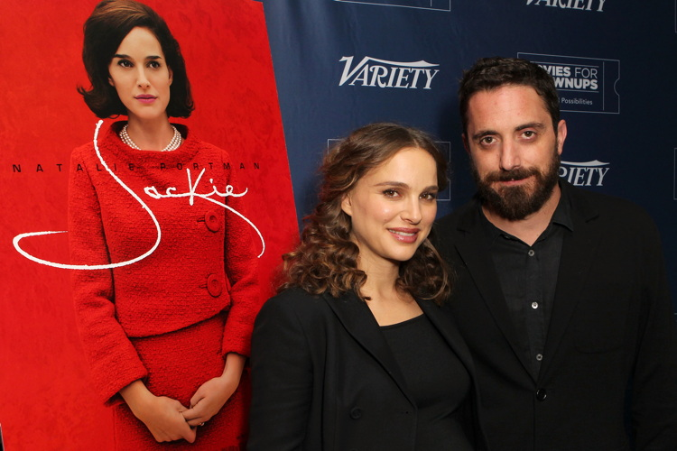 Natalie Portman and Pablo Larrain 'Jackie' Variety and AARP Movies for Grownups Screening Series, Los Angeles, USA - 04 Jan 2017Photo by Buchan/Variety/REX/Shutterstock