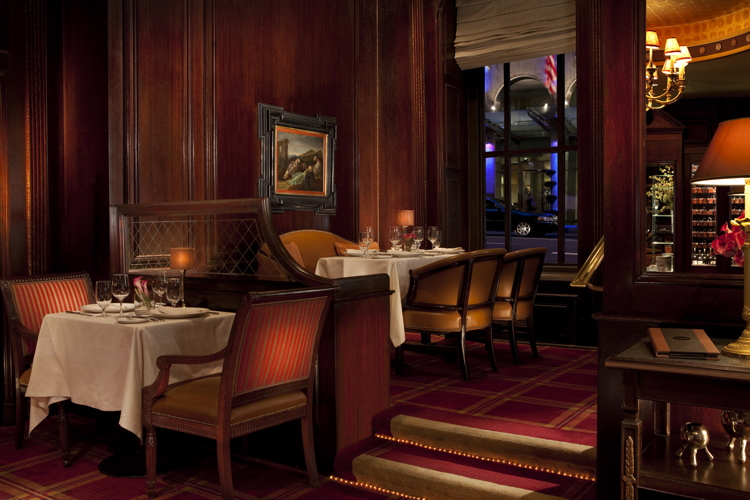 The Bull&Bear Prime Steakhouse in the Waldorf Astoria New York