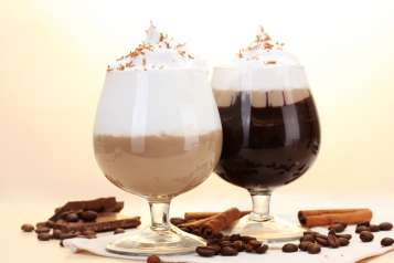 REcafe mocha cocktail