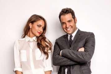 Rob Zangardi and Mariel Haenn