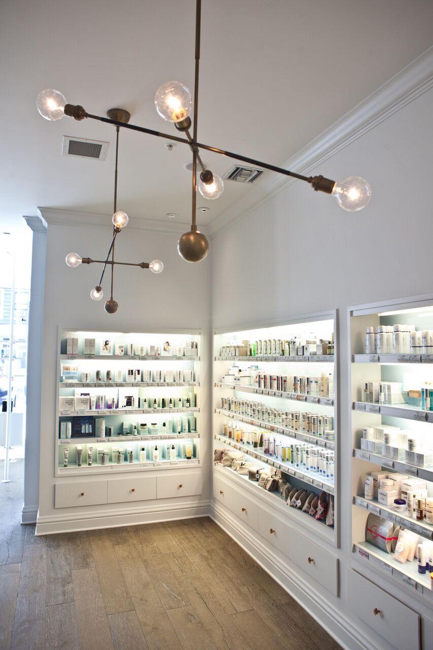 The spa's boutique