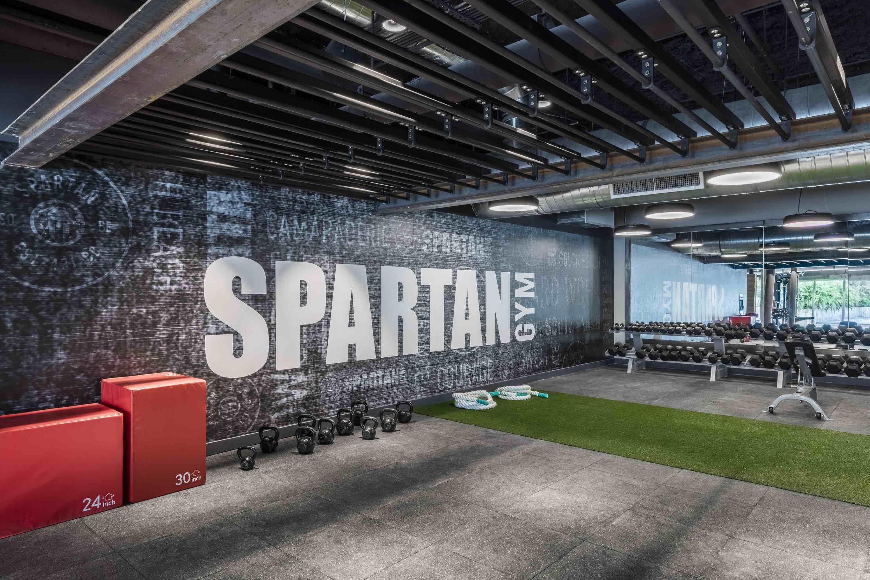 Spartan Gym 1Hotel Miami