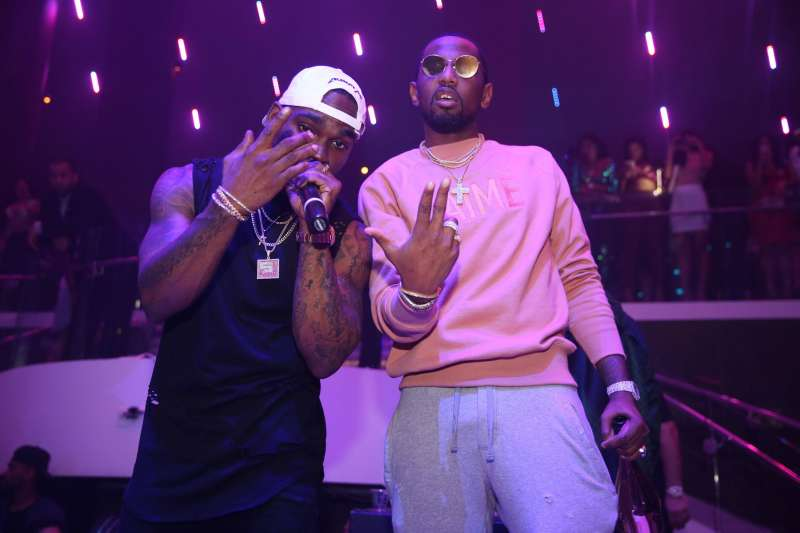 Stevie J & Fabolous at LIV