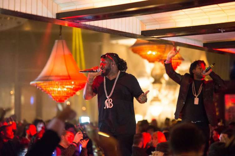 T-Pain performs at Lavo.