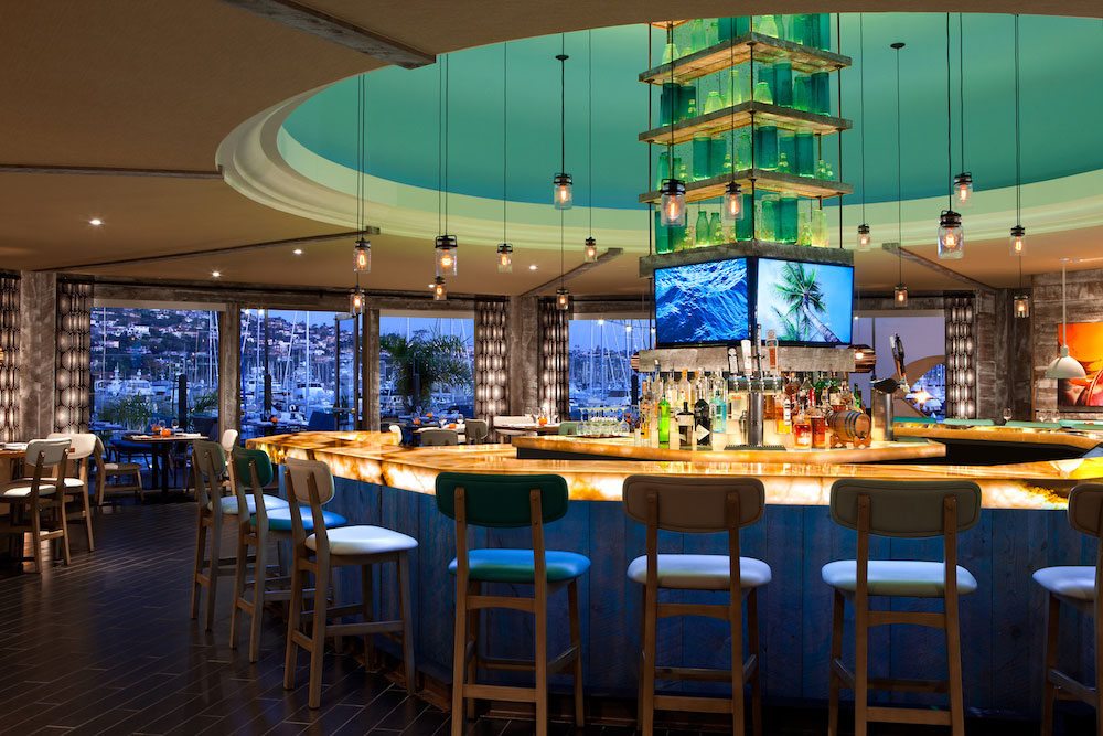 Vessel restaurant at the Kona Kai Resort in San Diego