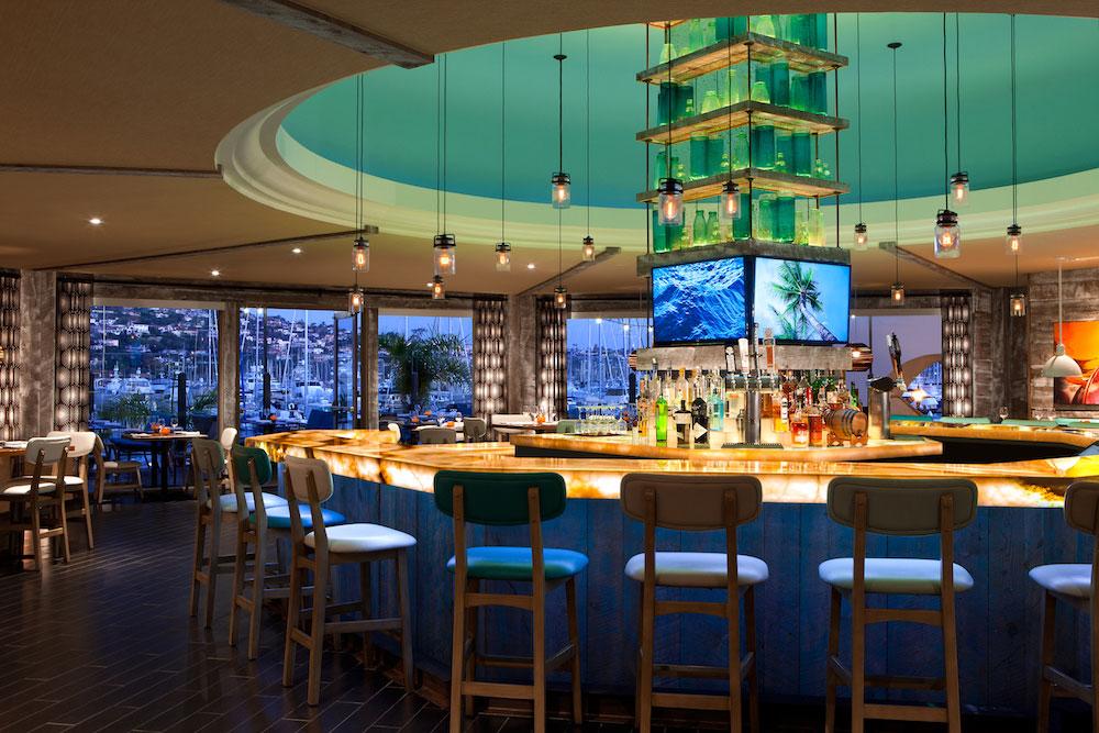Vessel restaurant at the Kona Kai Resort in San Diego