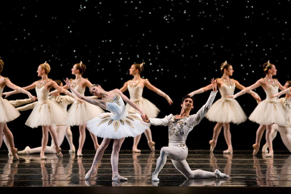 Vanessa Zahorian and Davit Karapetyan in Balanchine's Jewels
