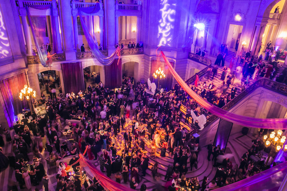 A transformed City Hall at the 2016 Opening Night Gala