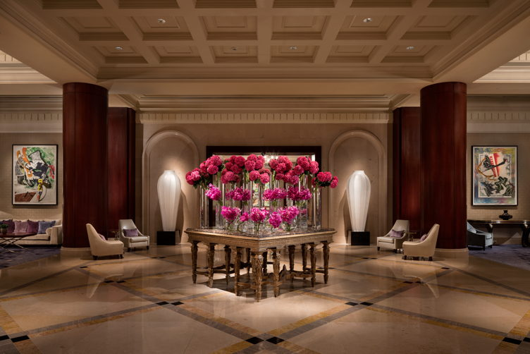 Ritz-Carlton, Dallas lobby