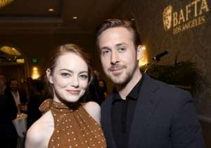 LOS ANGELES, CA - JANUARY 07:  Actors Emma Stone and Ryan Gosling attend The BAFTA Tea Party at Four Seasons Hotel Los Angeles at Beverly Hills on January 7, 2017 in Los Angeles, California.  (Photo by Matt Winkelmeyer/BAFTA LA/Getty Images)