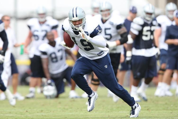 The Dallas Cowboys practice