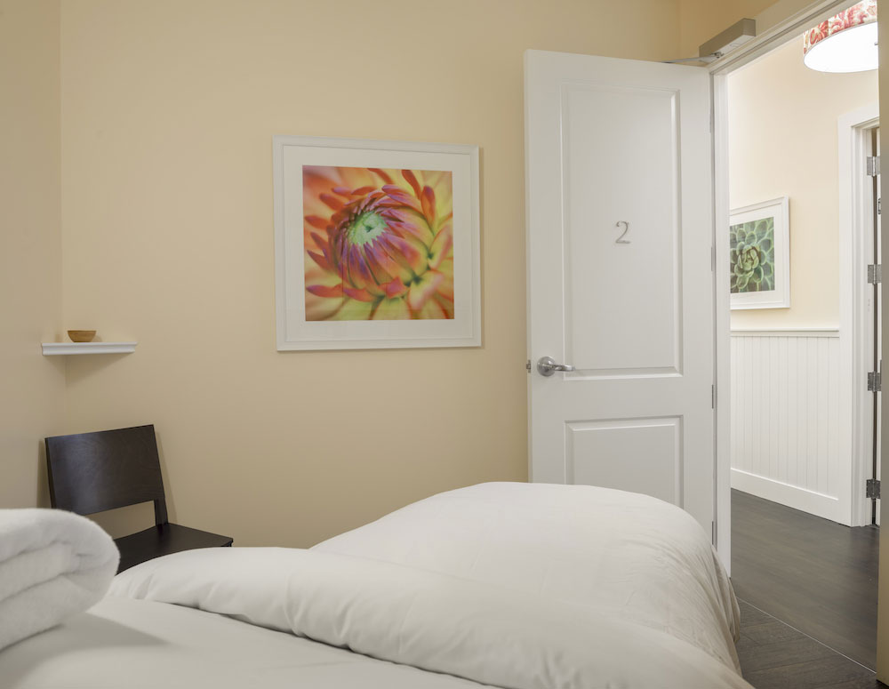 A welcoming treatment room
