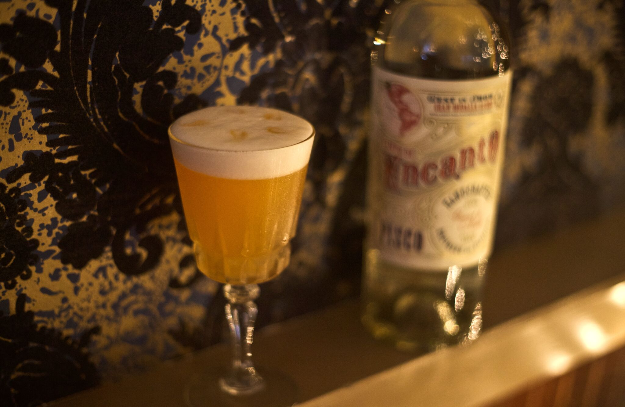 The Sea Stir's twist on a classic pisco sour