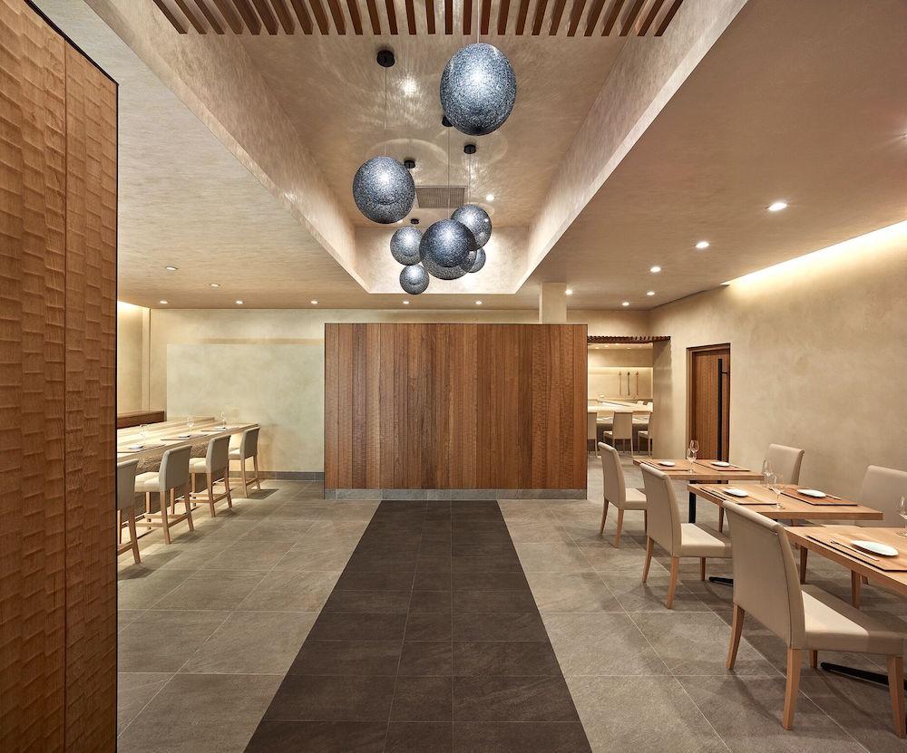 Kenzo's minimalist dining room