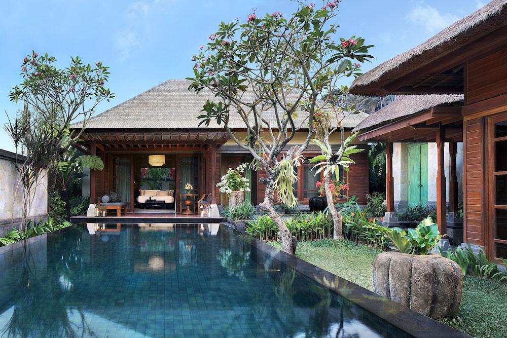 A private villa