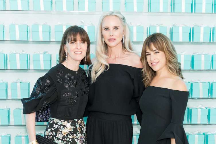 SAN FRANCISCO, CA - February 9 -  Allison Speer, Vanessa Getty and Alison Pincus attend Tiffany & Co. Grand Opening Event on February 9th 2017 at Tiffany & Co in San Francisco, CA (Photo - Drew Altizer)