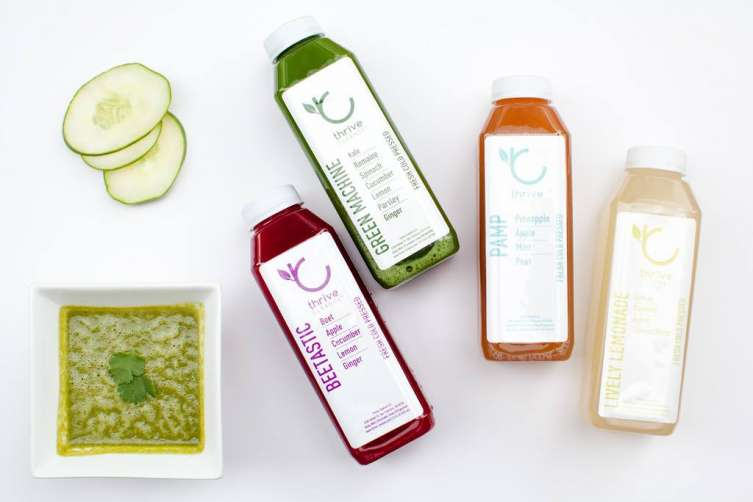 Juice from Thrive Juicery