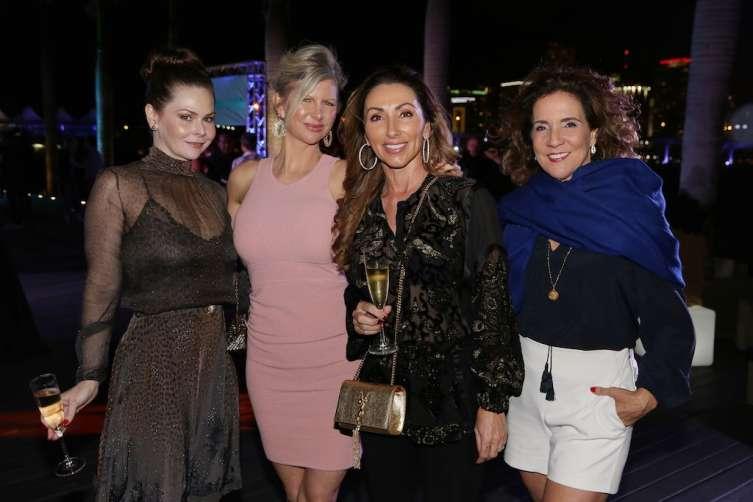 Kaki Hunt Kemp, April Donelson, Carol Iacovelli and Linda Levy Goldberg