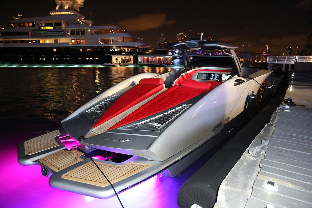 SV Yachts Launches ALPHA Yacht at Island Gardens Deep ...