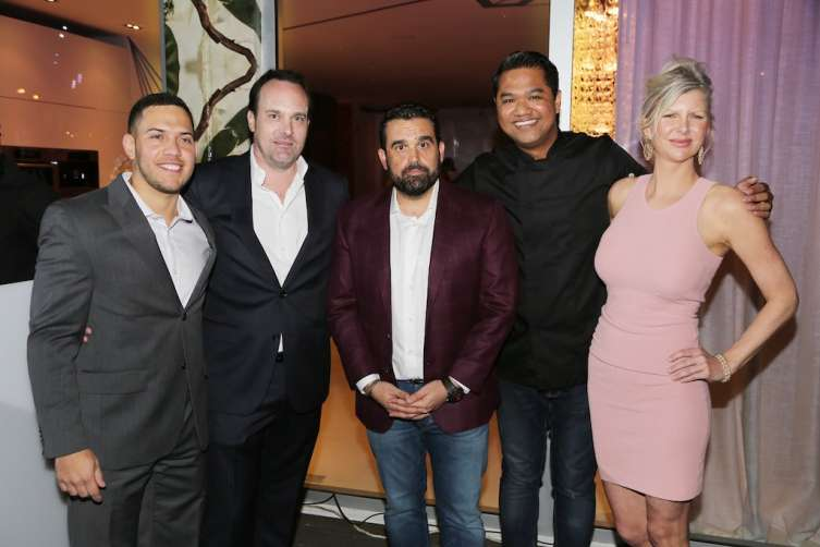 Mauricio Velez, Nikolai Sass, Seth Semilof, Chef Bjorn De la Cruz and April Donelson