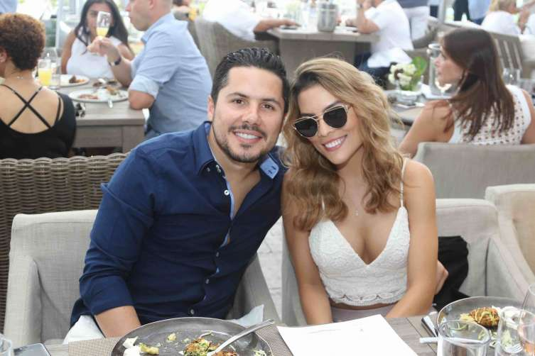 Antonio Caballero and Vanessa Cardona