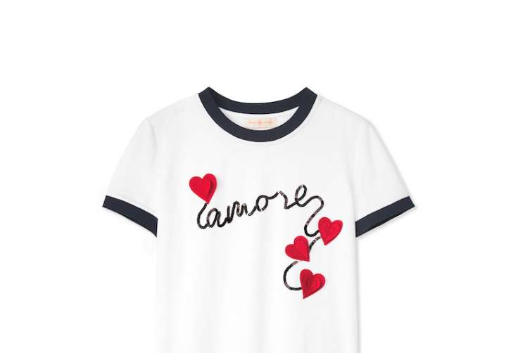 Tory Burch Amoré T-shirt
