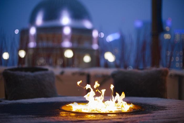 Boston Harbor Hotel_Fireside Lounge