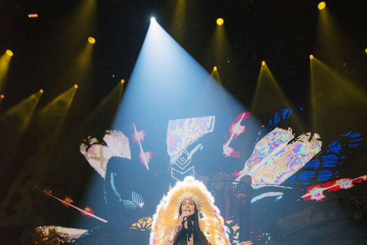 Cher 'Turns Back Time' with a triumphant return to Las Vegas with her 'Classic Cher' Show at the new Park Theater at Monte Carlo_Credit Andrew Macpherson+4