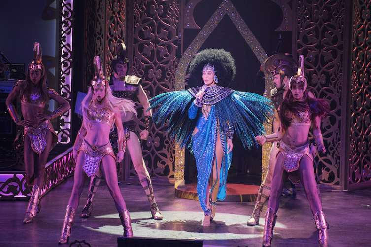 Cher 'Turns Back Time' with a triumphant return to Las Vegas with her 'Classic Cher' Show at the new Park Theater at Monte Carlo_Credit Andrew Macpherson
