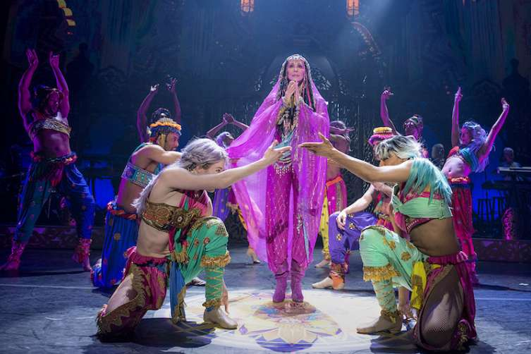 Cher 'Turns Back Time' with a triumphant return to Las Vegas with her 'Classic Cher' Show at the new Park Theater at Monte Carlo_Credit Andrew Macpherson_3