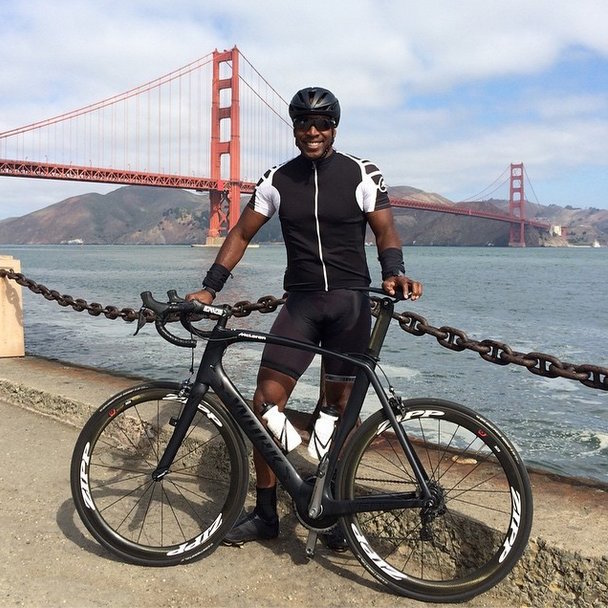 Barry Bonds is often sharing photos of his bike rides through San Francisco