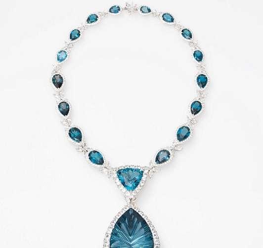 Elyse Jewelers - BlueTopazNeck