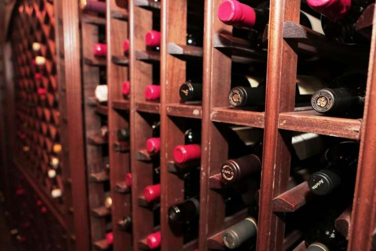 Wine Cellar at Bhatia private estate