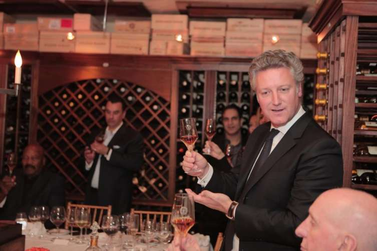 Yves De Launay during LOUIS XIII moment