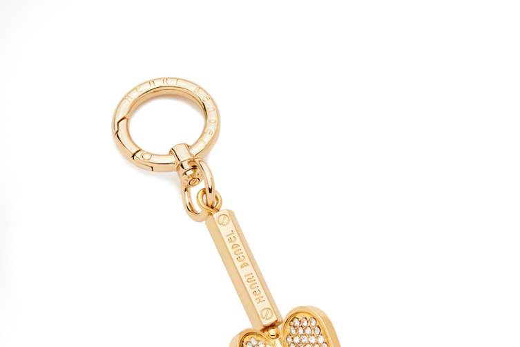 Henri's Heart key fob
