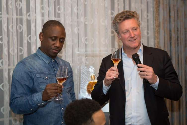 LOUIS XIII moment with Chaka Zulu and Yves De Launay