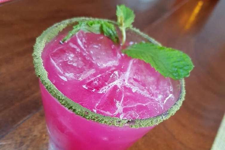 La Mar.Prickly Pear Margarita