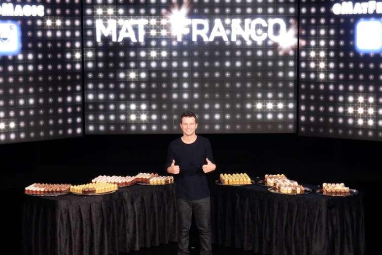 Mat Franco celebrates 500 shows in Las Vegas.