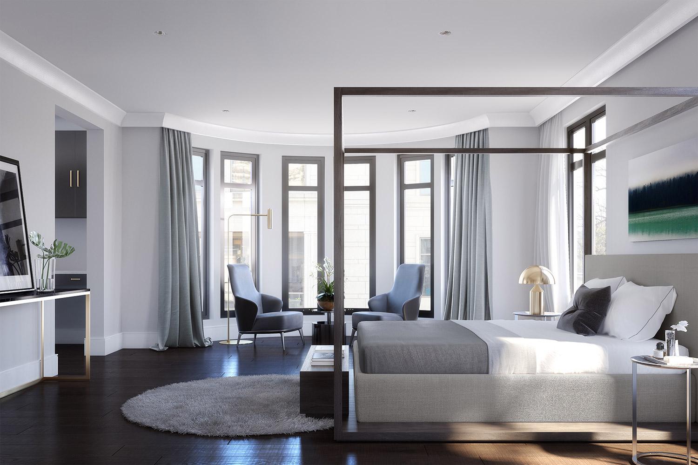 Residences At Mandarin Oriental Atlanta Maisonettes Luxury