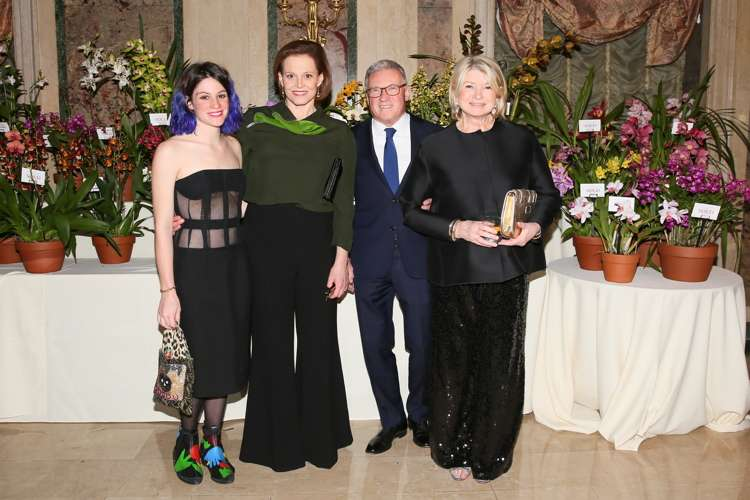 Charlotte Weaver,  Sigourney Weaver, Gregory Long, Martha Stewart