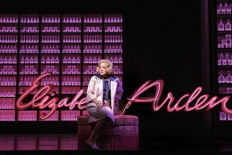 Christine Ebersole plays Elizabeth Arden. Photograph: Joan Marcus